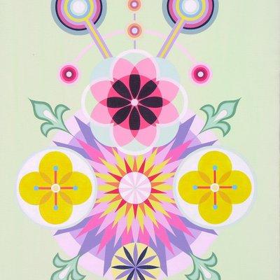 [A1374-0032] 빛-꽃-1