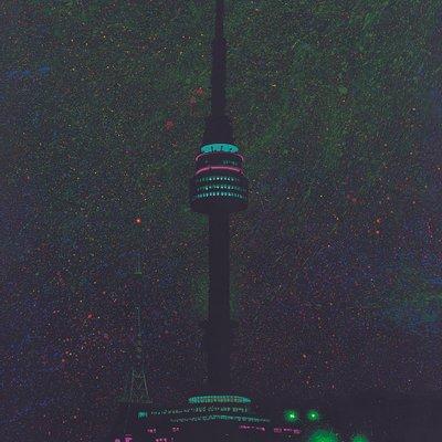 [A1397-0004] N Seoul Tower(Green)