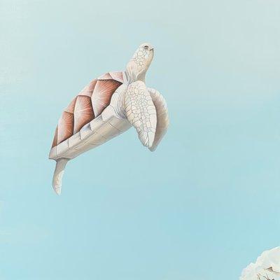 [A1424-0004] ALBINISM(알비니즘)-白海龜(백해귀)