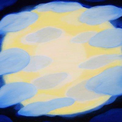 [A1514-0011] 꽃구름 마중