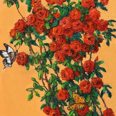 [A1548-0039] 장미꽃이 아름다운 이유